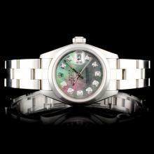 Rolex DateJust Diamond Ladies Wristwatch