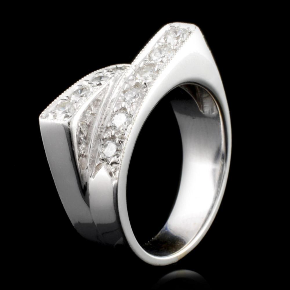 14K Gold 0.88ctw Diamond Ring
