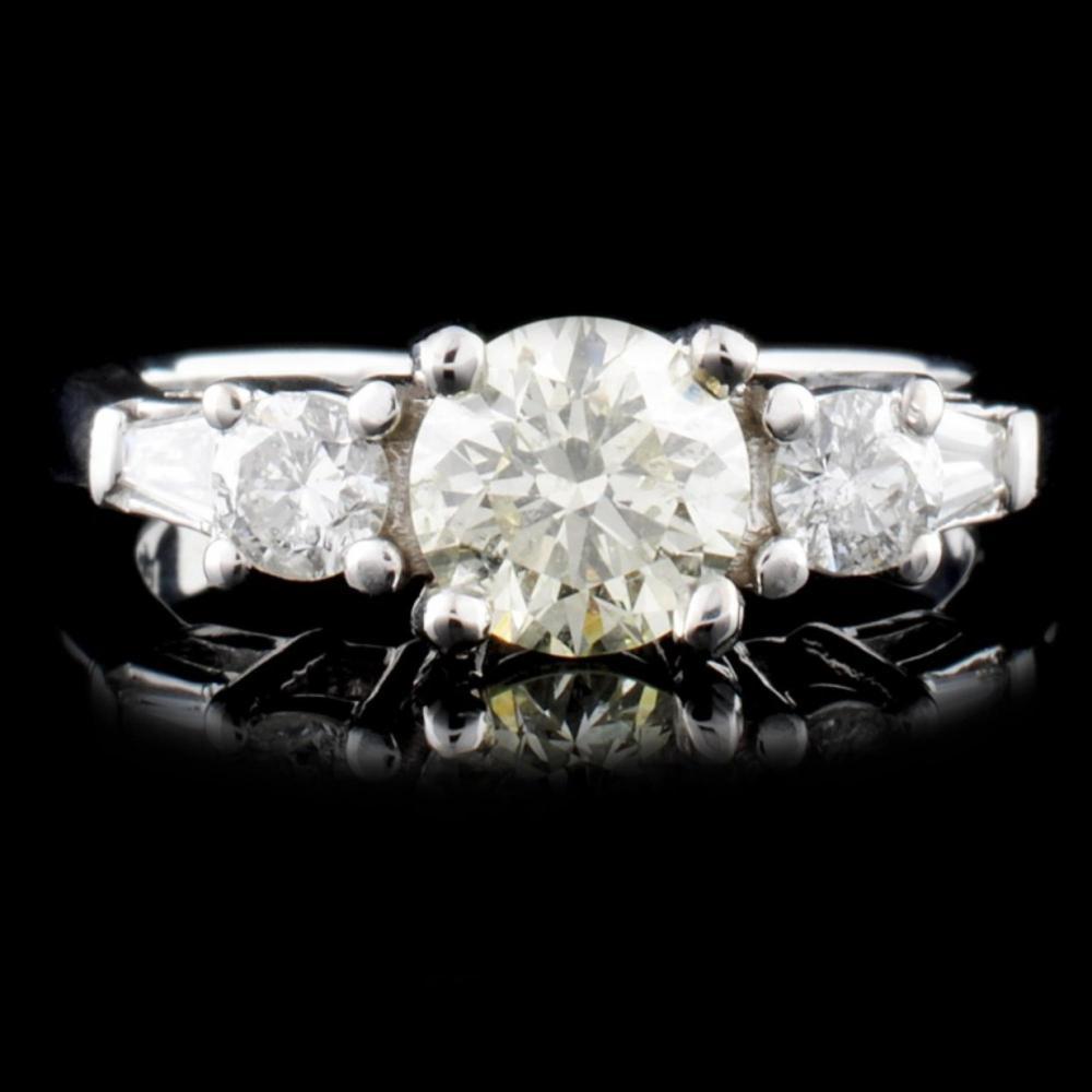 18K Gold 1.15ctw Diamond Ring