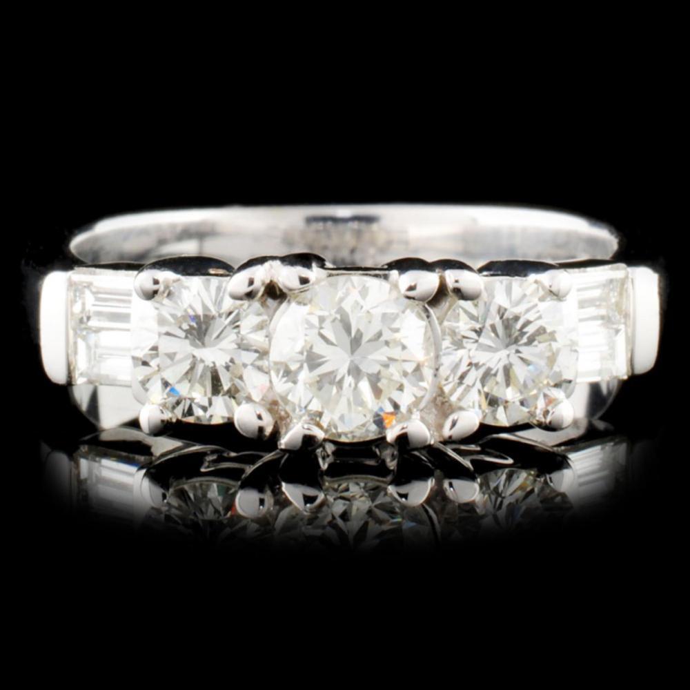 18K Gold 1.01ctw Diamond Ring