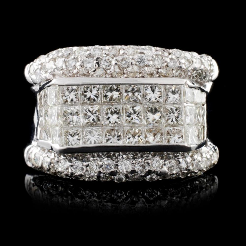 18K White Gold 2.75ctw Diamond Ring
