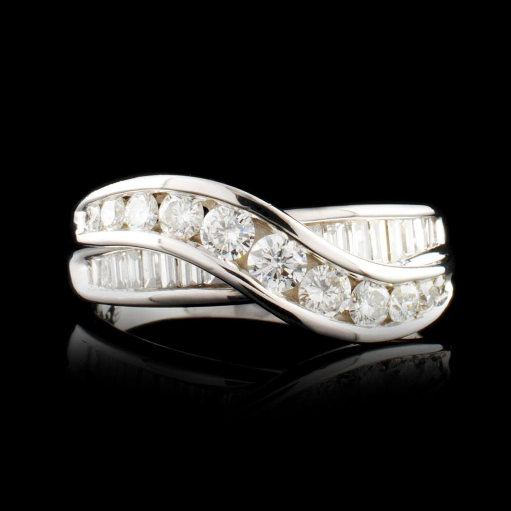 14K Gold 1.30ctw Diamond Ring
