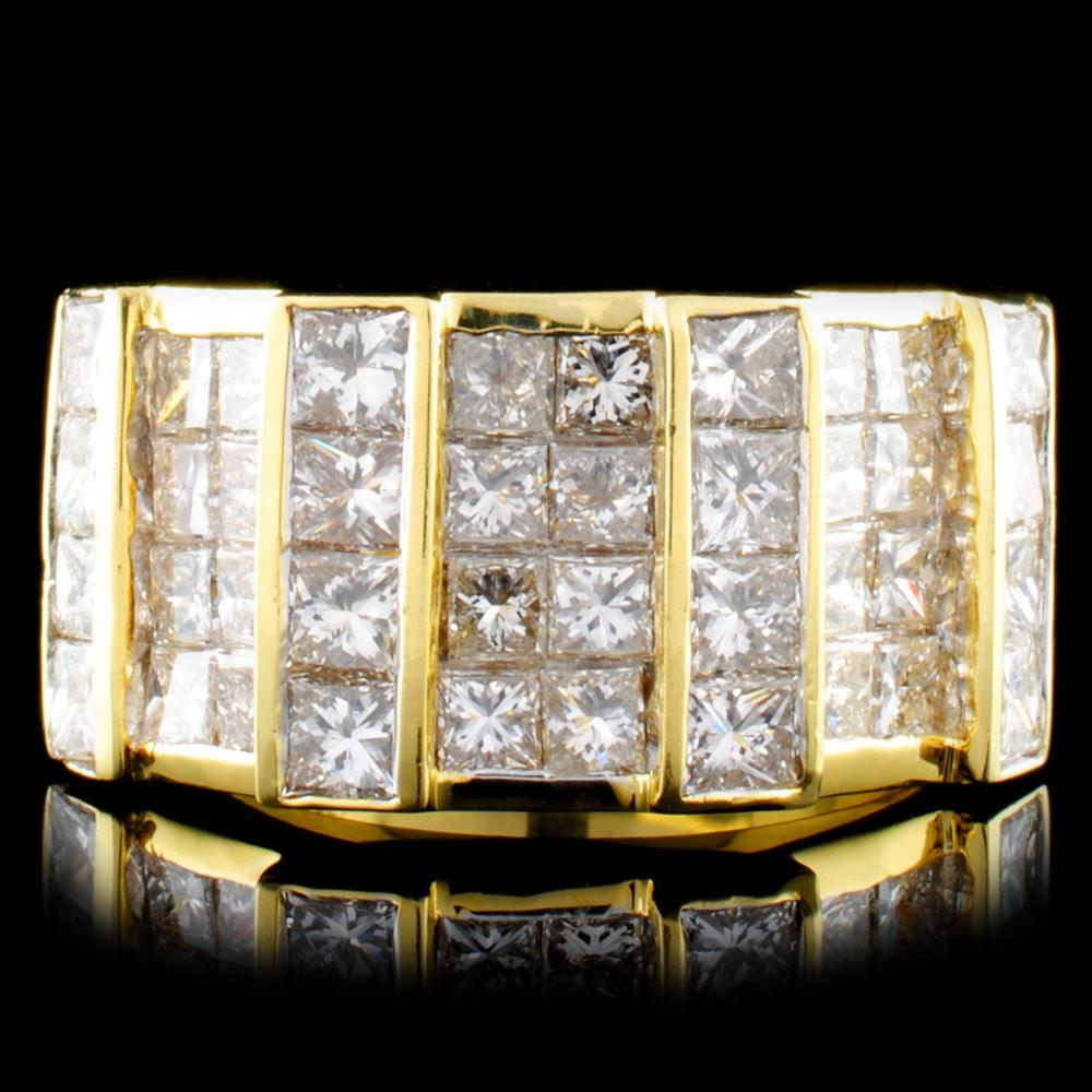 18K Gold 3.60ctw Diamond Ring