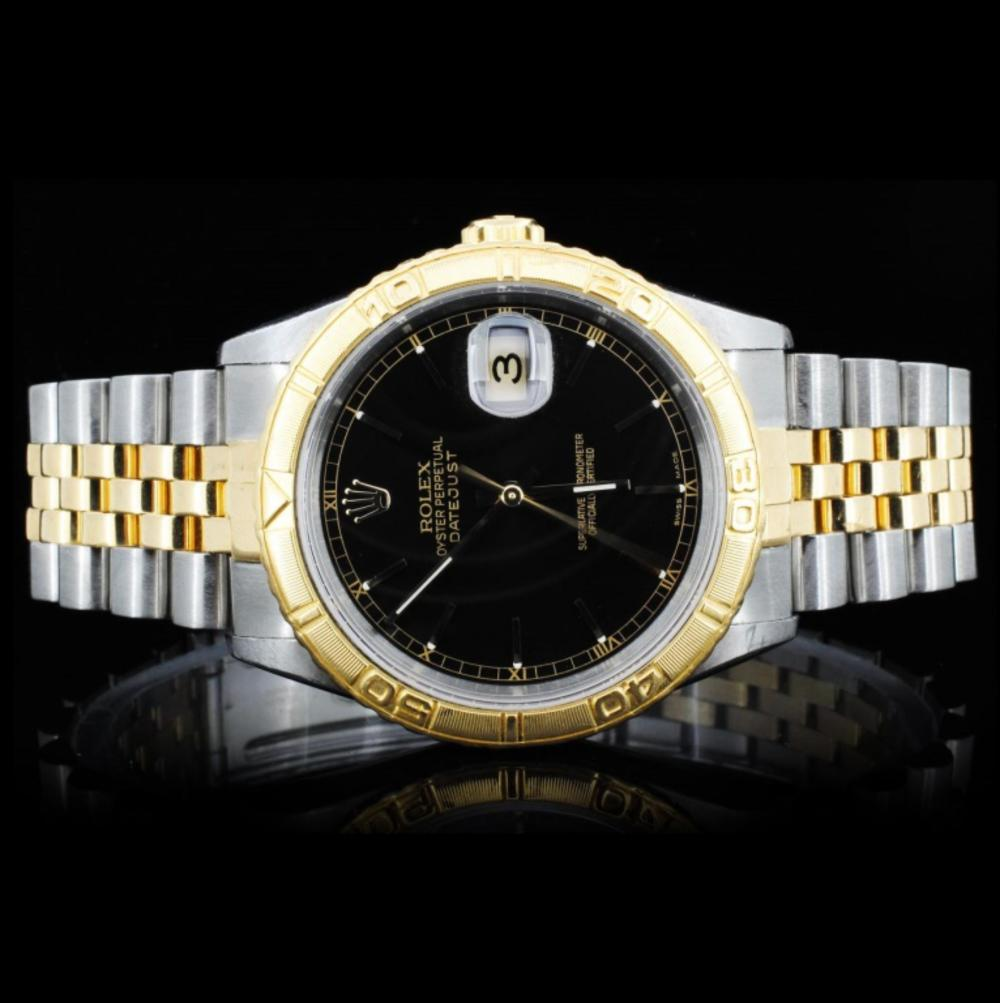 Rolex YG/SS DateJust 36MM Wristwatch