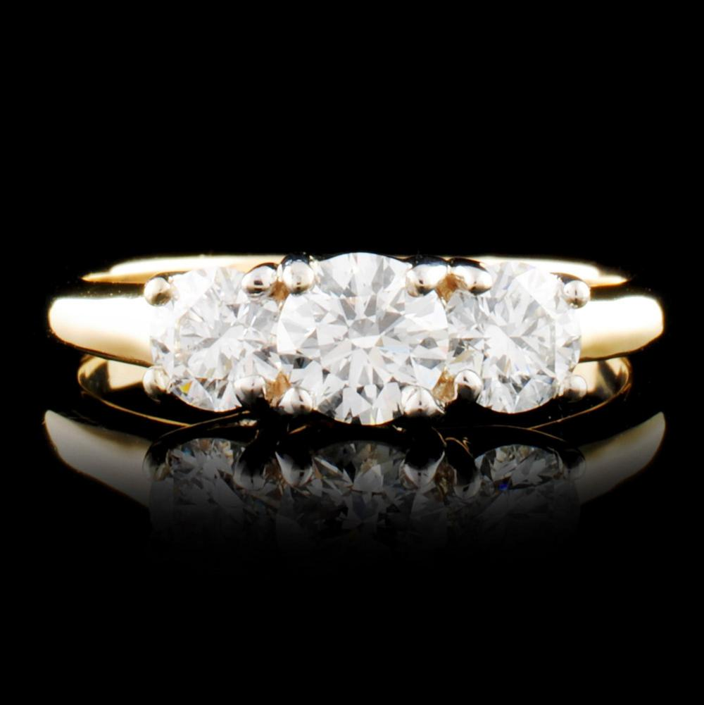 14K Gold 1.20ctw Diamond Ring