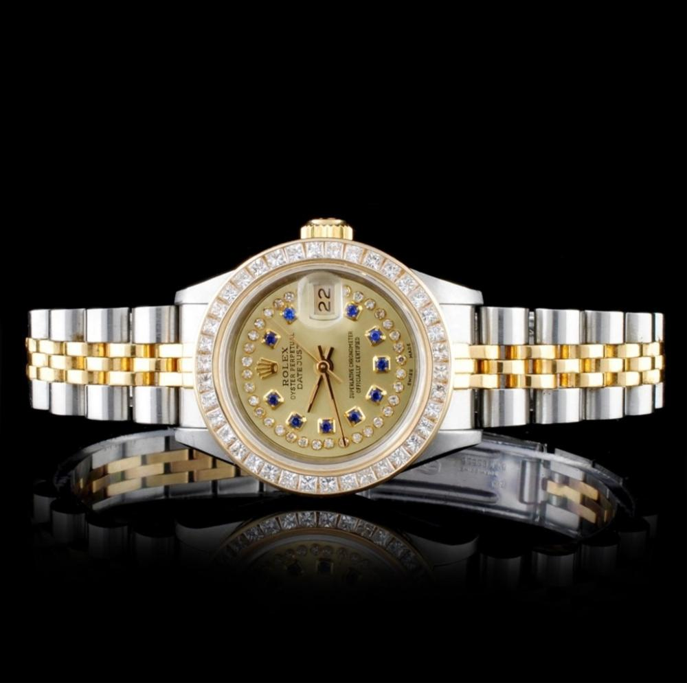 Rolex YG/SS DateJust 1.50ct Diamond 26MM Watch