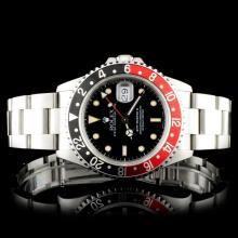 Rolex SS GMT-Master II Coke 16710 Wristwatch