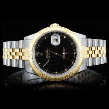 Rolex YG/SS DateJust Men's Wristwatch