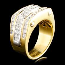 18K Gold 6.30ctw Diamond Ring