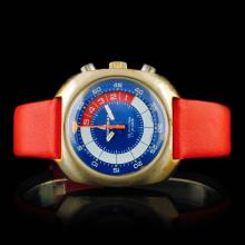 Memosail Swiss 17-Jewel Chronograph 40mm Wristwatc