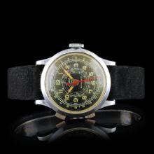 BASIS WATCH Swiss Stainless Chrono 32mm Watch