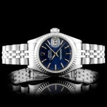 Rolex DateJust Stainless Steel Wristwatch