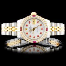 Rolex DateJust Ladies 1.00ct Diamond Wristwatch