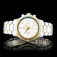 Ebel Automatic 18K/SS Tachymetre 36mm Wristwatch