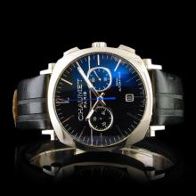 Chaumet Paris Stainless Steel 40mm Chronograph
