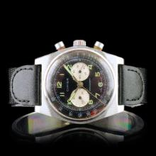 CIMIER Swiss Chronograph 17-Jewel 40mm Wristwatch