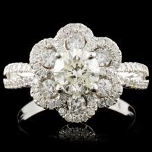 18K Gold 1.73ctw Diamond Ring