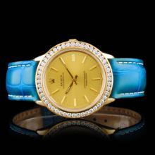 Rolex Oyster YG 2.50ct Diamond 36mm Wristwatch