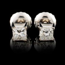 14K Gold 0.34ctw Diamond Earrings