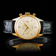 BUXY FAB. Suisse Chronograph 36mm Wristwatch