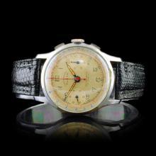 ALSTA Swiss 17-Jewel Chronograph 34mm Watch