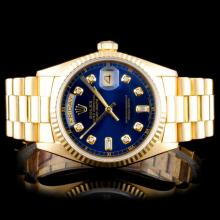 Auction Event Exquisite 18k Gold Jewelry Diamonds Sapphires Rolex & Cartier Watches