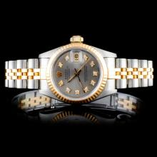 Rolex TT DateJust Diamond Ladies Watch