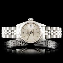 Rolex SS DateJust Ladies Wristwatch