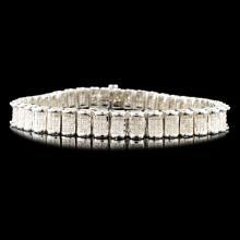 14K Gold 5.09ctw Diamond Bracelet