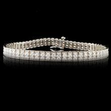 14K Gold 2.72ctw Diamond Bracelet
