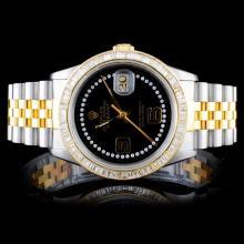 Rolex DateJust 3.50ct Diamond Wristwatch