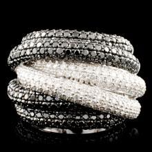 14K Gold 5.23ctw Diamond Ring