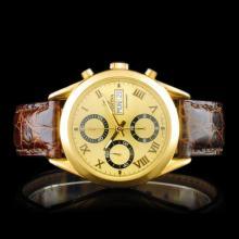 FESTINA Automatic Swiss 18K Gold 40MM Chronograph
