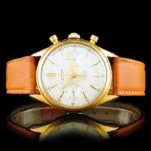 Fiudo Swiss 18K Rose Gold 36mm Chronograph