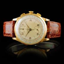 Chronographe Suisse 18K Rose Gold 36mm Watch