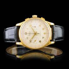 SIBAN Swiss 17-Jewel Chronograph 40mm Wristwatch