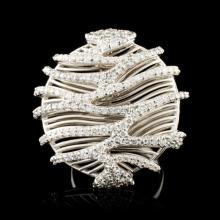 18K Gold 1.98ctw Diamond Ring