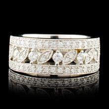 14K Gold 0.51ctw Diamond Ring