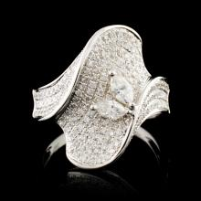 18K Gold 1.92ctw Diamond Ring