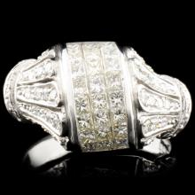 18K Gold 1.44ctw Diamond Ring