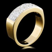 18K Gold 1.48ctw Diamond Ring
