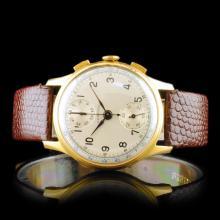 HARMAN Swiss 17-Jewel Chronograph 36mm Wristwatch