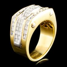 18K Gold 6.30ctw Diamond Ring