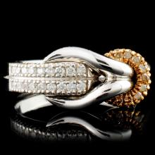 14K Gold 0.30ctw Diamond Ring