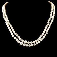 3.00MM - 7.00MM Pearl Necklace