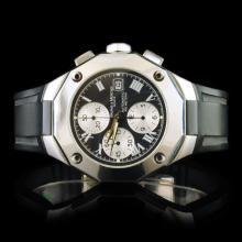 Buame & Mercier SS 40mm Divers Chrono Watch