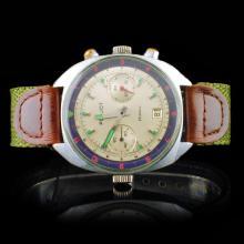 POLJOT USSR 23-Jewel Chronograph 40mm Watch