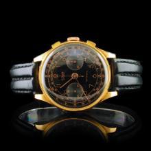 TITUS Gevene 18K Gold Chrono 36mm Wristwatch