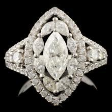 18K Gold 2.10ctw Diamond Ring