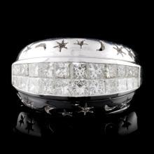 18K White Gold 1.90ct Diamond Ring